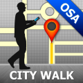 Osaka Map and Walks Icon