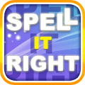 Spell it right! Icon
