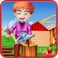 Tree House Kids Construction Icon