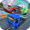 Highway Traffic Car Racing 3D Icon