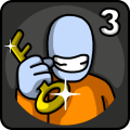 One Level 3: Stickman Jailbreak Icon