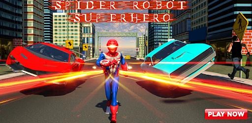Spider Robot Superhero Crime CIty Rescue Mission apk