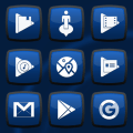 Royale Anna Blue Icons Icon