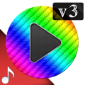Poweramp v3 skin rainbow Icon