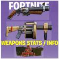 Weapons StatsInfoGuides - Fortnite Battle Royale Icon