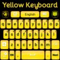 Yellow Keyboard Icon