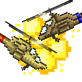 Helicopter Hostility Icon