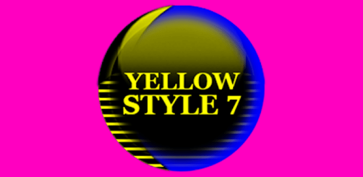 Yellow Icon Pack Style 7 ✨Free✨ apk