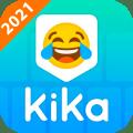 Kika Keyboard 2021 - Emoji Keyboard, Emoticon, GIF Icon