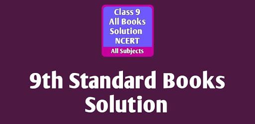 Class 9 Books Solution NCERT-9th Standard Solution apk