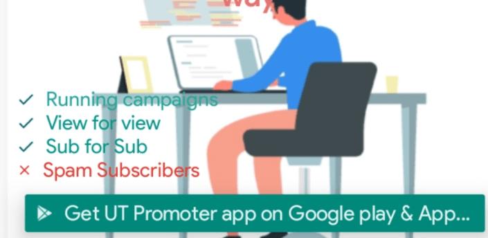 UT Promoter - Pro: Earn Subscribers apk