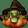 ADW Theme Halloween Witch Icon