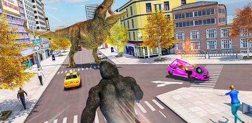 Crazy Gorilla GT Parkour: Free Mega Ramp Stunts apk