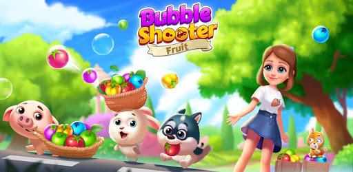 Bubble Fruit: Pet Bubble Shooter Games apk