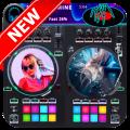3D DJ Name Mixer 2021 - DJ Song Mixer App Offline Icon
