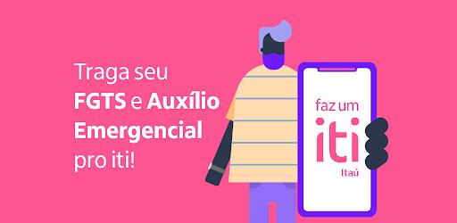 iti Itaú: conta digital pra pagar e transferir apk