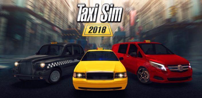 Taxi Sim 2016 (Mod) apk