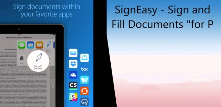 SignEasy   Sign and Fill PDF and other Documents apk
