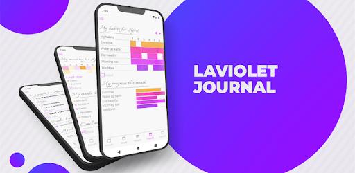Laviolet Journal - Set Goals, Habits, Bullet Tasks apk