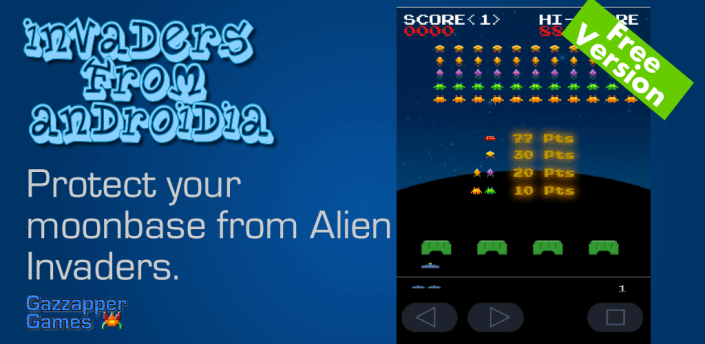 Invaders from Androidia (Free) apk