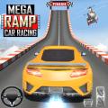 Mega Ramp Car Stunts Racing : Impossible Tracks 3D Icon