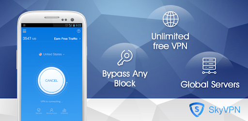 SkyVPN-Unlimited Free VPN Proxy protect privacy apk