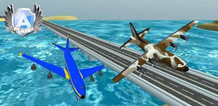 A-plane flight simulator 3D apk