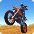 MOTO CROSS HERO - 3D Free Game Icon