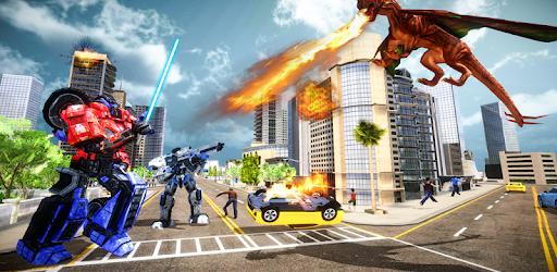 Dragon Transform Multi Robot Transform apk