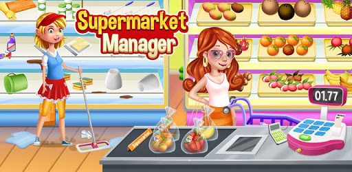 Supermarket Manager: Cashier Simulator Kids Games apk
