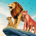 The Lion Simulator: Animal Family Game Icon
