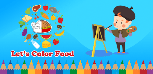 Coloring Book for kids : Food apk