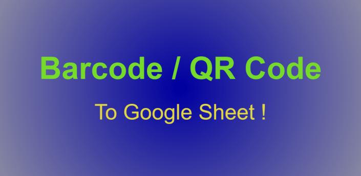 Barcode to Google Sheets apk