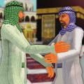 Virtual Muslims Life: Ramadan Mubarak Muslim 3D Icon