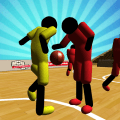 Stickman 3D Basketball Icon