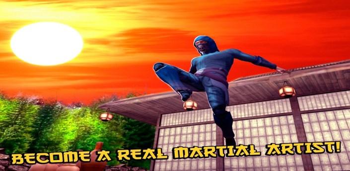 Ninja Kung Fu Fighting 3D apk