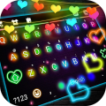 Color Lights Live Keyboard Background Icon