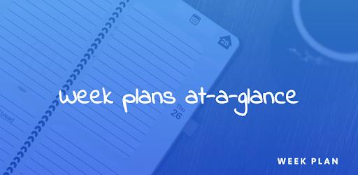 Week Planner Diary, Organiser, Calendar, Daybook apk