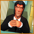 Scary Boss 3D Icon