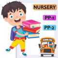 Nursery, LKG, UKG, Pre Primary, Kids Learning App Icon