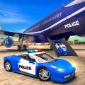 US Police Car Transport Simulator Icon