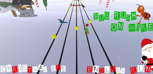 Bug Rush On Wire - An Endless Runner apk