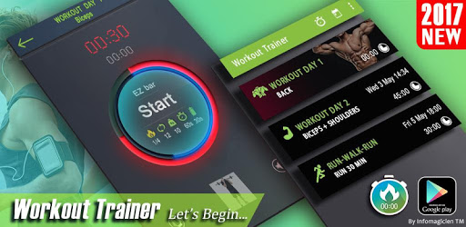 Gym Workout: Routines Planner - Personal Trainer apk