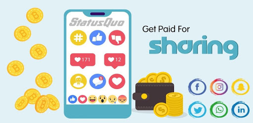 Status Quo - The App That Pays You To Post🤑💵 apk