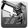 Droid Pistol Icon