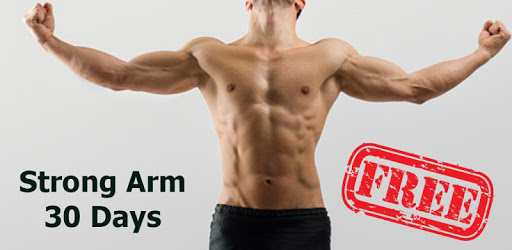 Strong Arms in 30 Days - Biceps Exercise apk