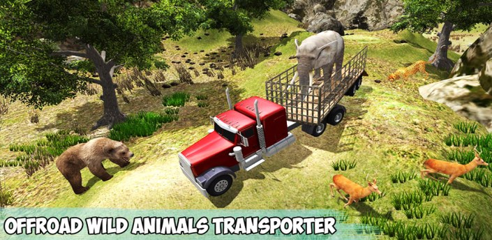 Offroad Wild Animals Transport apk