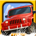 Snow Off Road -- mountain road hill climb racing game Icon
