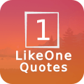 LikeOne Quotes: Best image and text quotes Icon