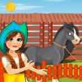 Build Horse Stable: Farm Construction Games Icon